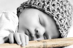 Kaatje Kiek kinderfotografie: Bolle buik - Baby